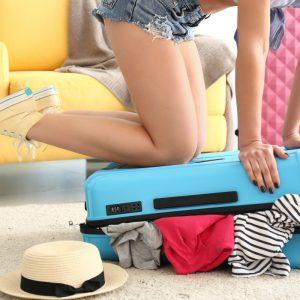 Achat d'une grande valise